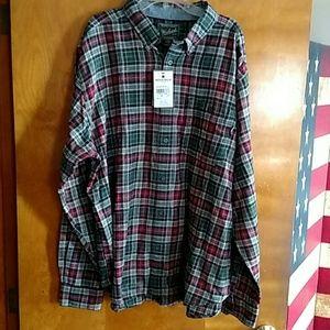 Men,s XL Flannel shirt. Woolrich. NWT.